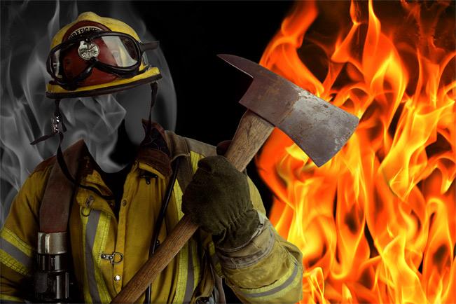 тематика пожарная фото